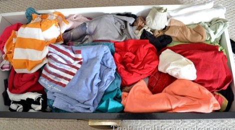 Shoving Things in Drawers